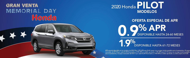 2020 Honda Pilot Modelos