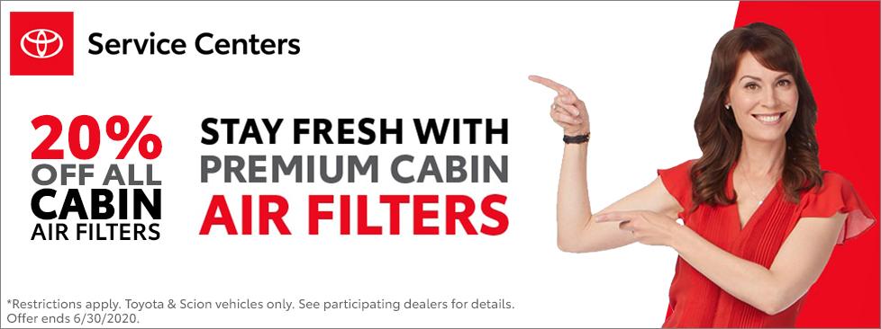 Premium Cabin Air Filters