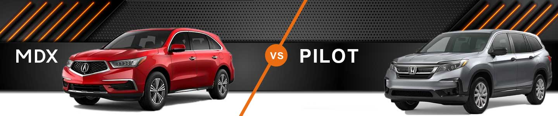 Three-Row SUV Comparison: 2020 Acura MDX Vs. 2020 Honda Pilot