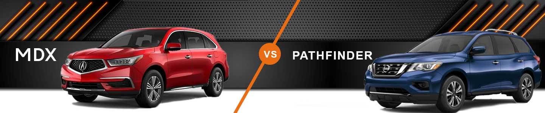 Three-Row SUV Comparison: 2020 Acura MDX Vs. 2020 Nissan Pathfinder