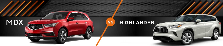 Three-Row SUV Comparison: 2020 Acura MDX Vs. 2020 Toyota Highlander