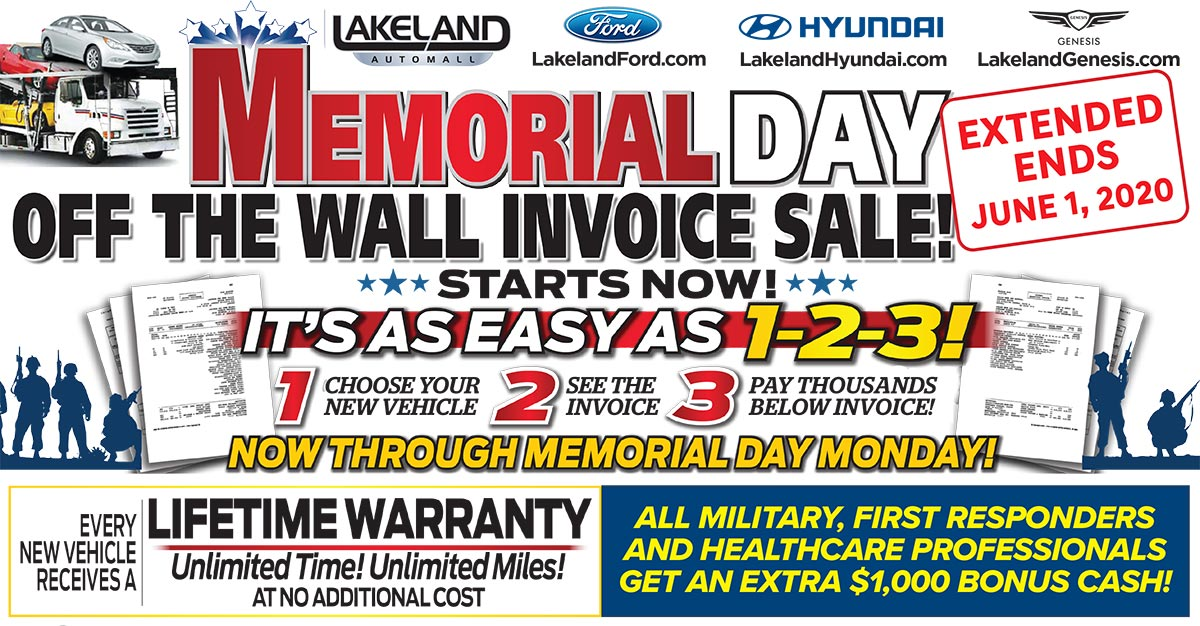 EXTENDED Off The Wall Invoice Sales Event