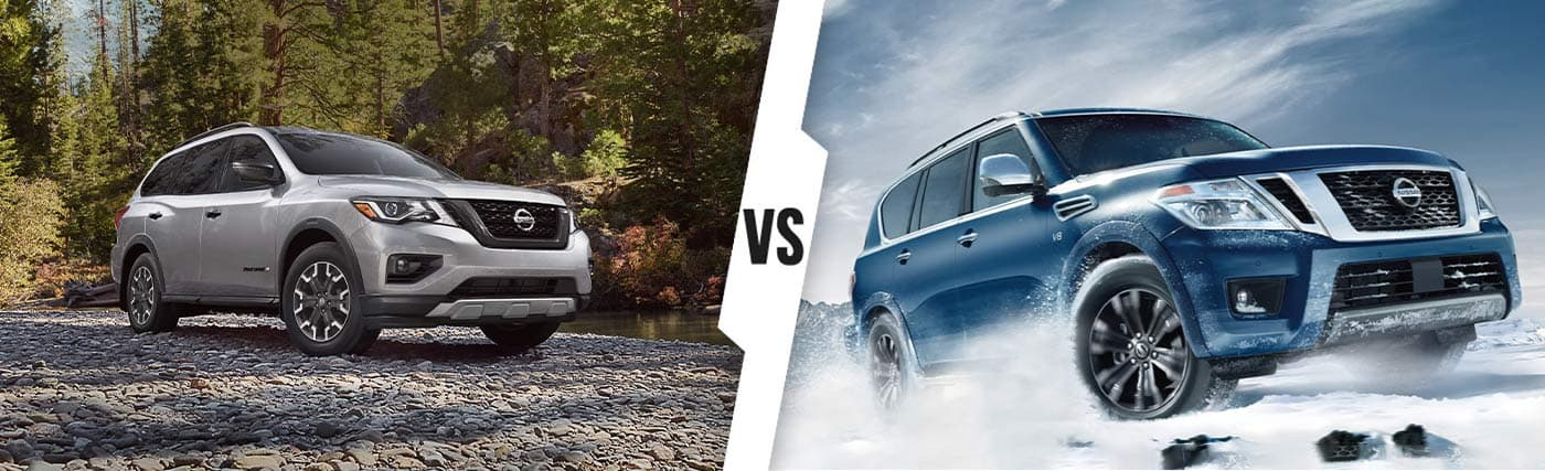 Nissan SUV Comparison: 2020 Nissan Armada Vs. 2020 Nissan Pathfinder