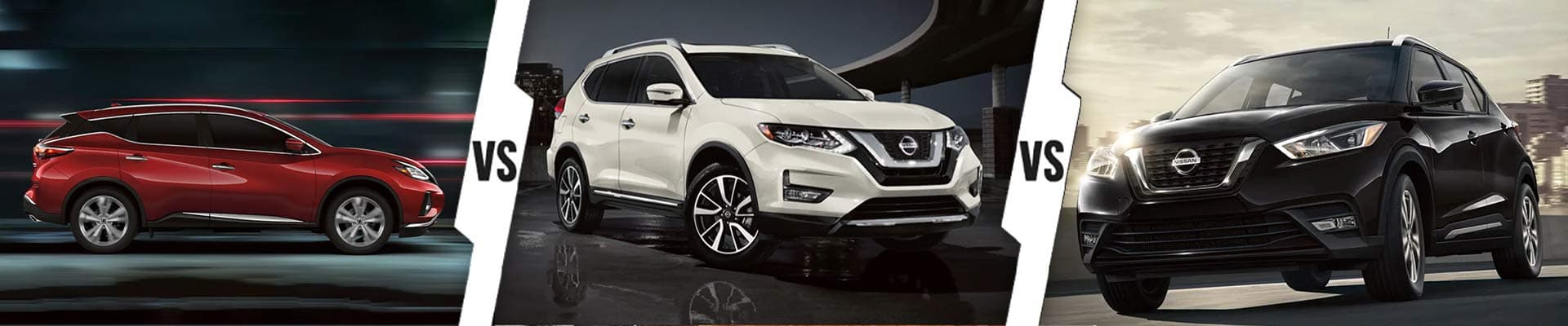 Nissan Crossovers: 2020 Nissan Murano Vs. 2020 Nissan Rogue Vs. 2020 Nissan Kicks