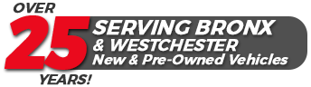 over 25 years serving bronx and westchester new and pre-owned vehicles