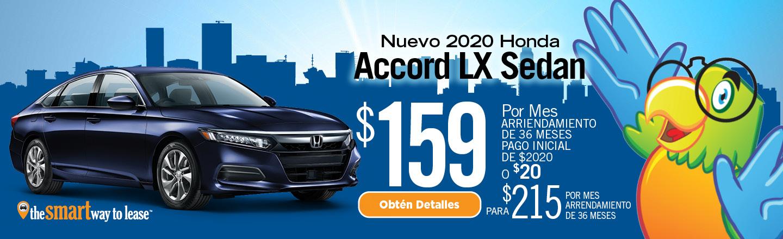 2020 Honda Accord LX Sedan Auto