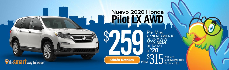 2020 Honda Pilot LX AWD