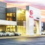 Stevinson Toyota West Service Center Entrance