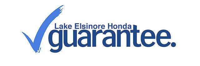 Guaranteed items when you buy at Lake Elsinore Honda