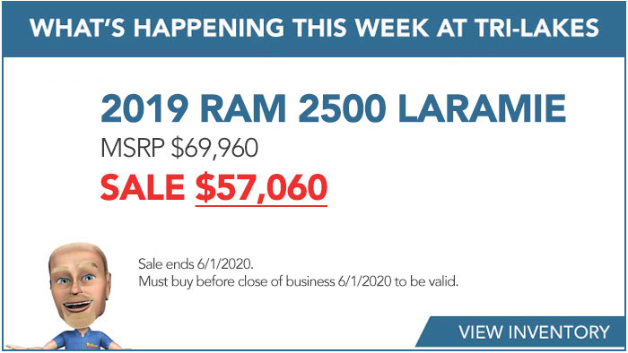 What's Happening 2019 RAM 2500 LARAMIE