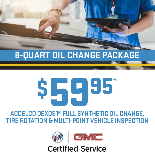 8 Quart Oil Change