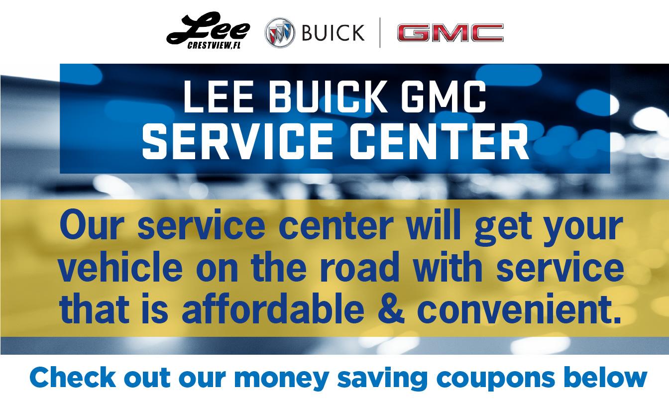 GMC Service & Parts Specials