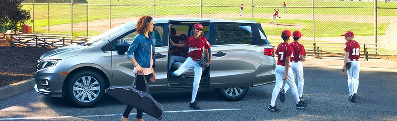 Discover The 2020 Honda Odyssey Minivan At Walker Jones Honda Near Blackshear, Georgia