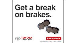 Complete Brake Service Savings Event
