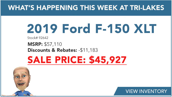 What's Happening 2019 Ford F-150 XLT