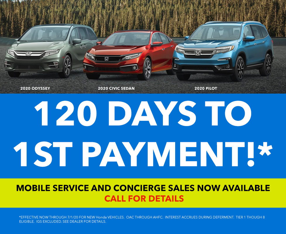 120 Days to 1st Payment