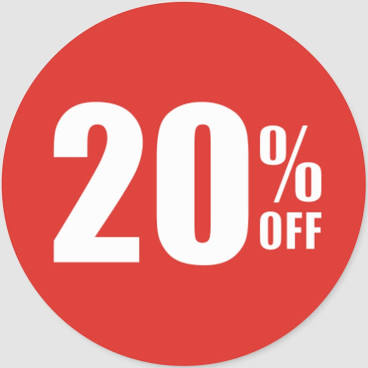 20% 0FF ALL PARTS AND ACCESSORIES