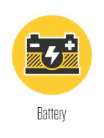 BG Services - Battery at Lakeland Auto Service
