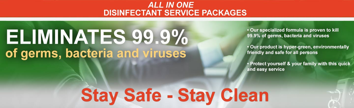 Disinfectant Service Packages