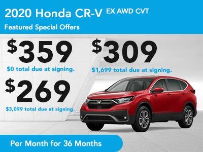 2019 CR-V AWD EX CVT