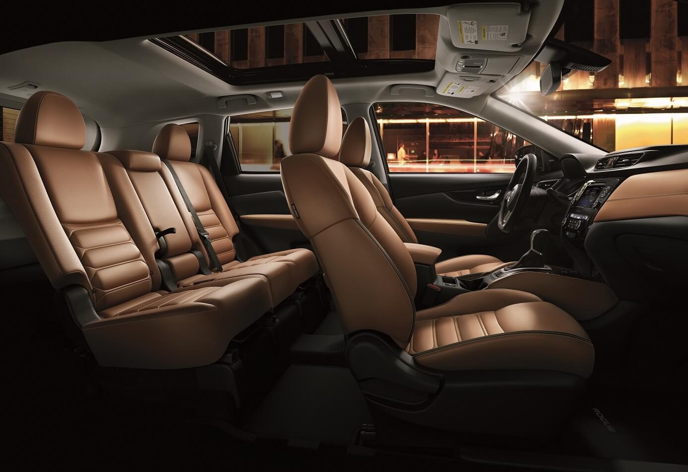 Nissan Rogue Interior Space