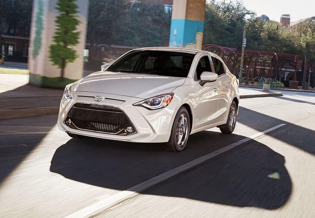 2020 Toyota Yaris Driving
