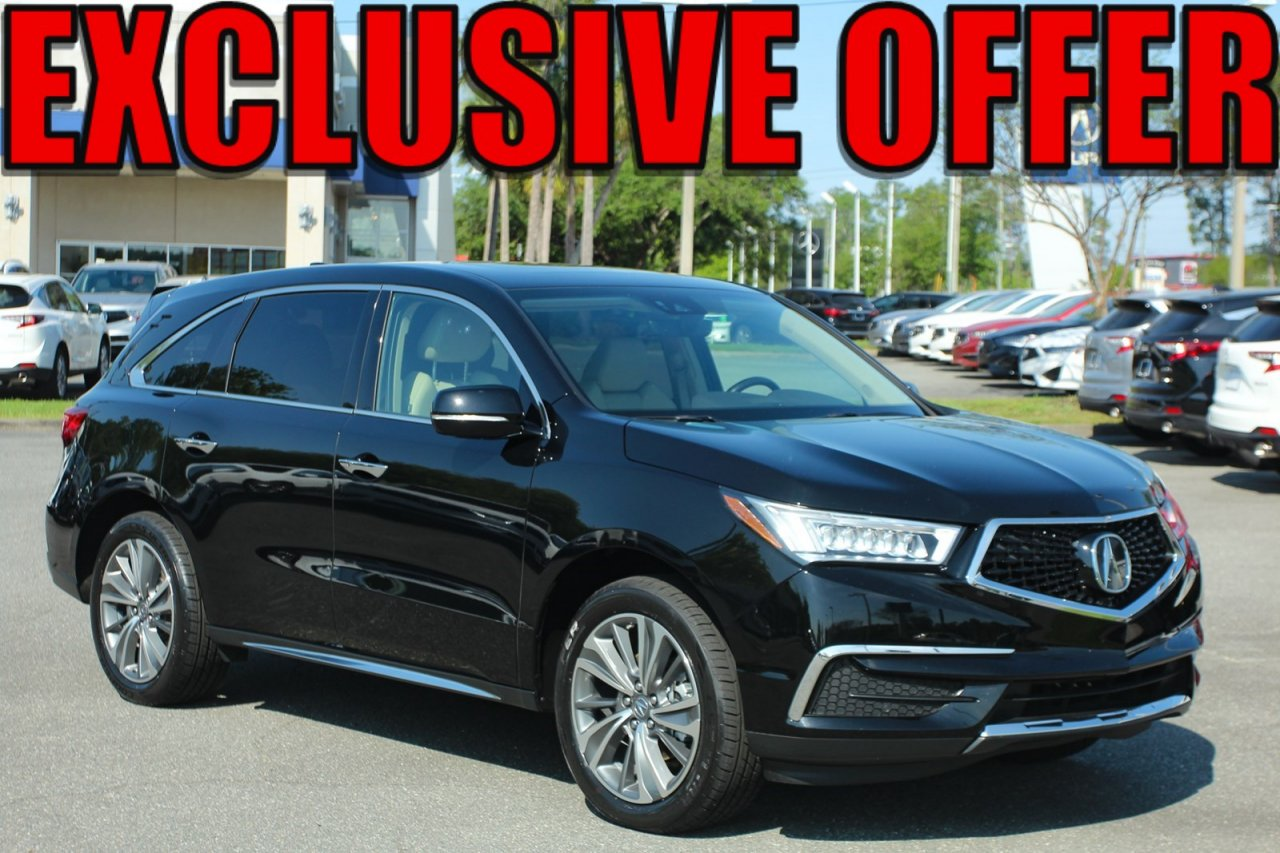 Certified 2017 Acura MDX W/Technology Pkg