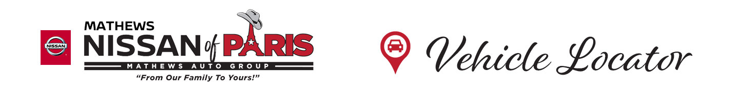 Mathews Nissan of Paris Vehicle Locator