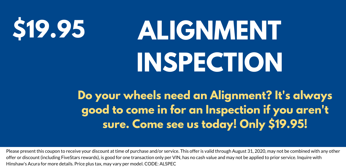Alignment Inspection