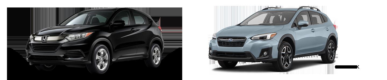 Comparing The Honda HR-V Versus The Subaru Crosstrek In Little Rock