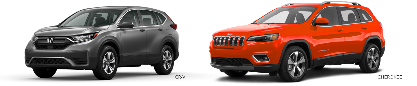 Explore The Differences Between The 2020 Honda CR-V & The 2020 Jeep Cherokee