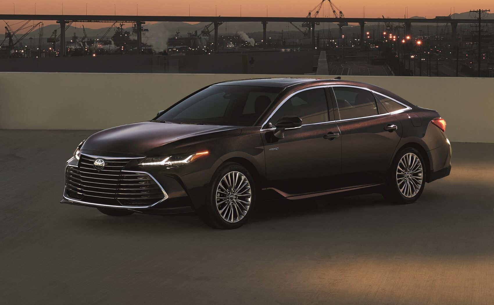 Toyota Avalon Hybrid Parked