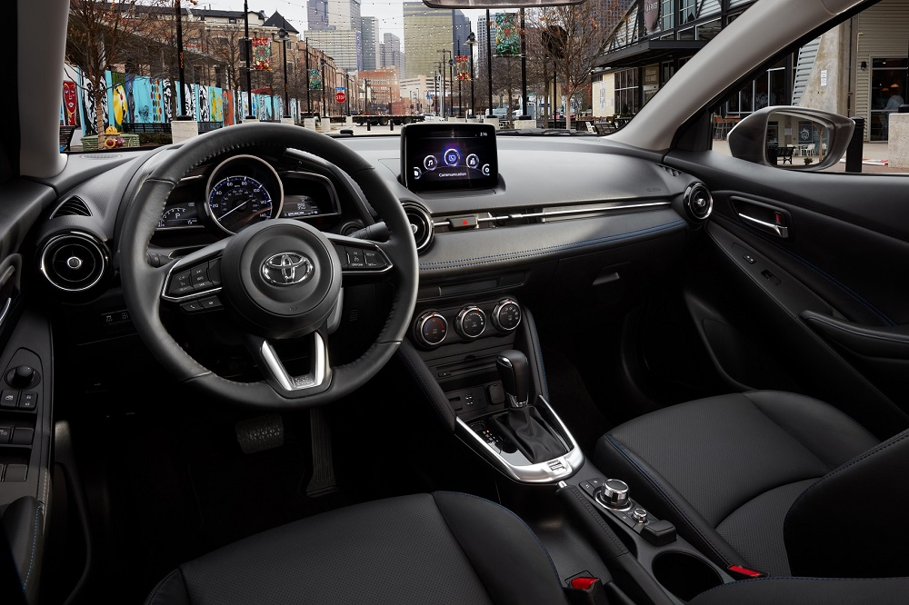 2020 Toyota Yaris Hatchback Interior