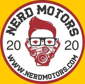 nerd motors 2020 logo