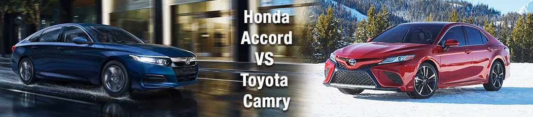 2019 Honda Accord vs Toyota Camry
