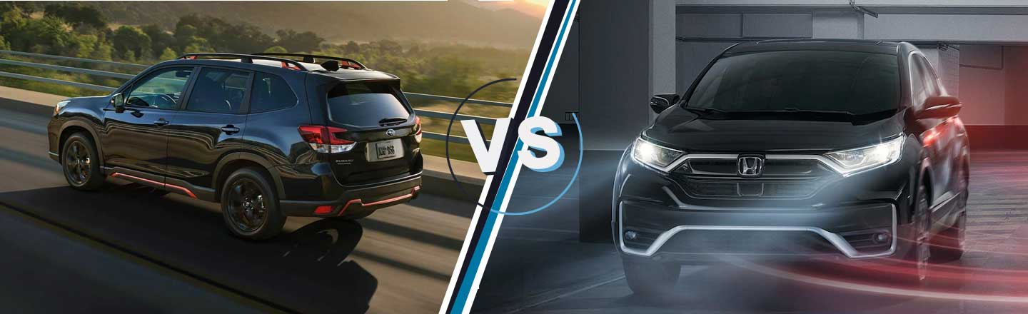 Honda CR-V Vs. Subaru Forester