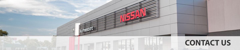 Nissan of Murfreesboro Contact Us