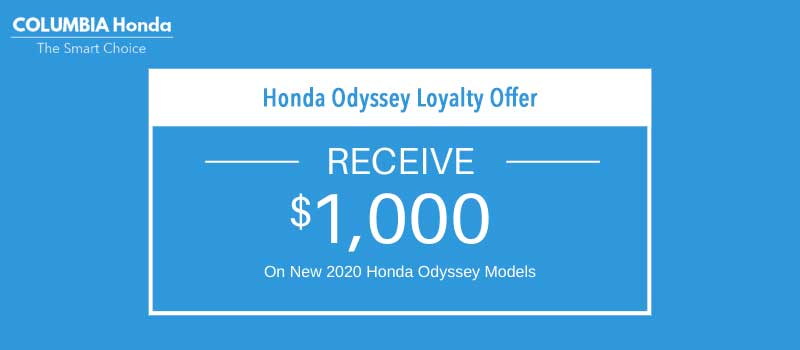 odyssey honda loyalty offer