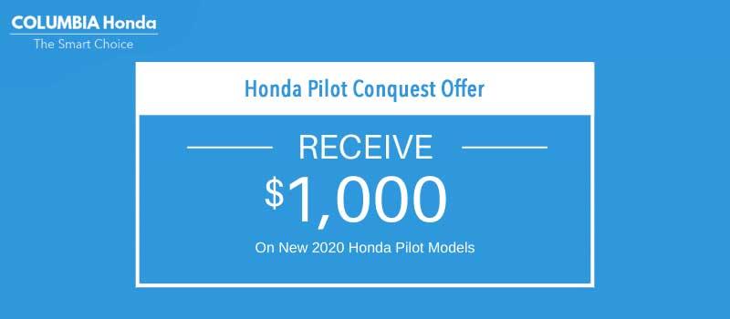 pilot conquest offer