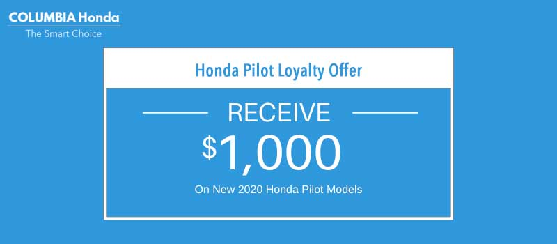 pilot honda loyalty Offer