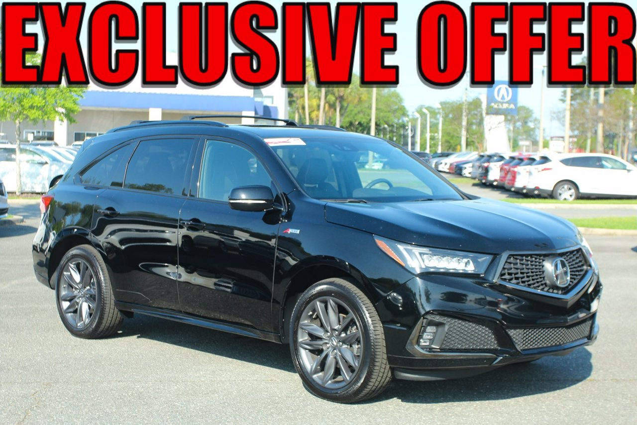 Certified 2019 Acura MDX Tech/A-Spec Pkg