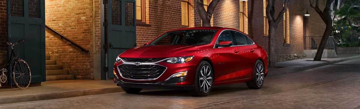 image of red chevrolet malibu