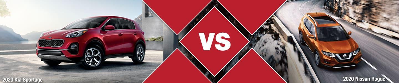 Compact CUV Comparison: 2020 Kia Sportage Vs. 2020 Nissan Rogue