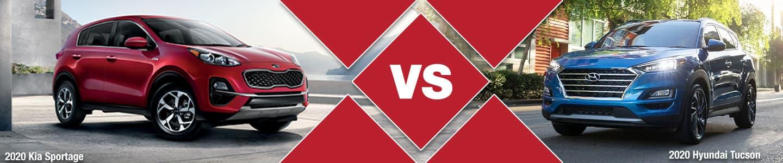 Compact CUV Comparison: 2020 Kia Sportage Vs. 2020 Hyundai Tucson