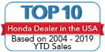 Top Ten Honda Dealer in the USA