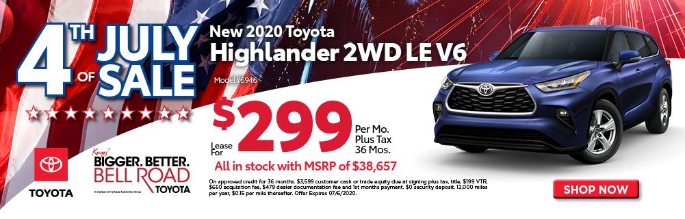 2020 Highlander LE