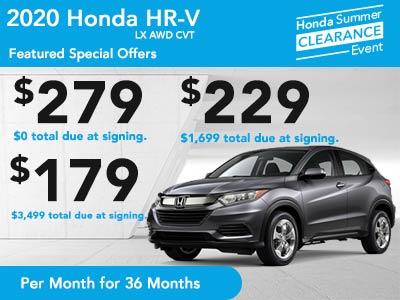 2020 HR-V LX AWD CVT