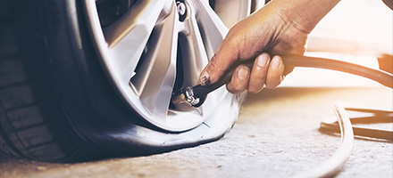 Complimentary Flat Tire Repair