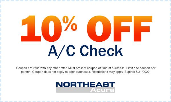 10% Off A/C Check