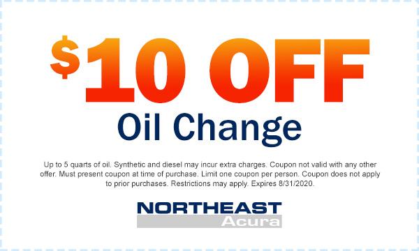$10 Off Oil Change